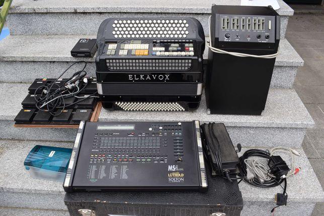 Acordeao Elkavox 4 Voz Com Sistema Midi, N . 111