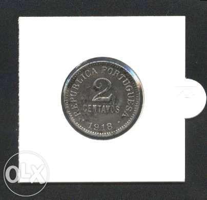Espadim - Moeda de 2 Centavos de 1918 - Ferro