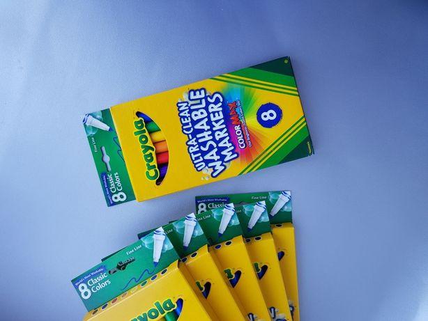 Crayola смываемые фломастеры