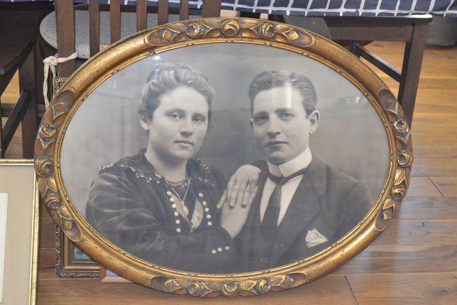 małżeńska para obraz fotografia