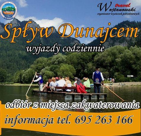 Spływ Przełomem Dunajca POLSKI- wyjazdy z Zakopanego