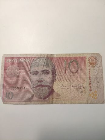 Estonia, Banknot 10 Krooni, 1994