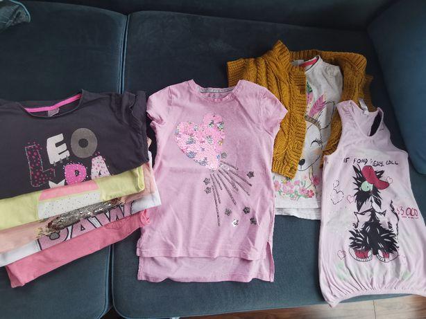 Ubrania dla dziewczynki 122cm - 134cm