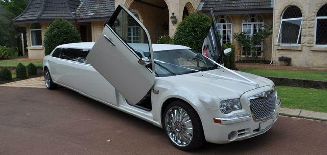 Auto do ślubu, samochód do ślubu Mława, wynajem limuzyny panieński