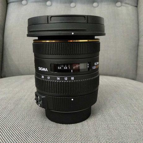 Sigma 10-20mm f/3.5 para Nikon