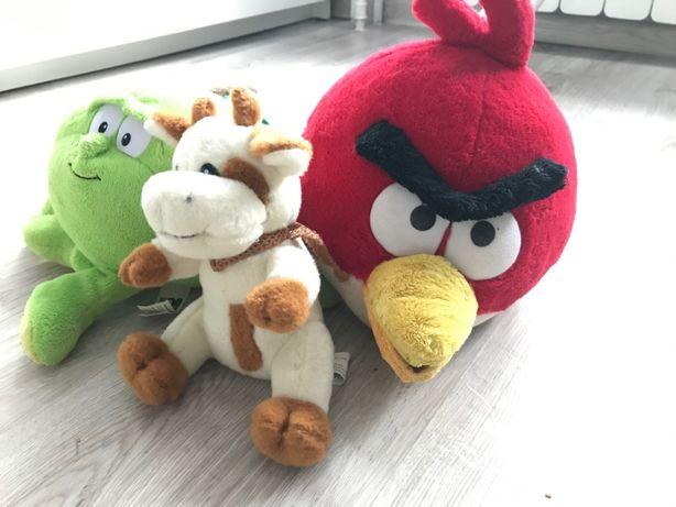 pluszaki zestaw angry birds