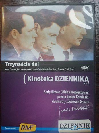 Kevin Kostner w filmie Trzynaście dni na dvd