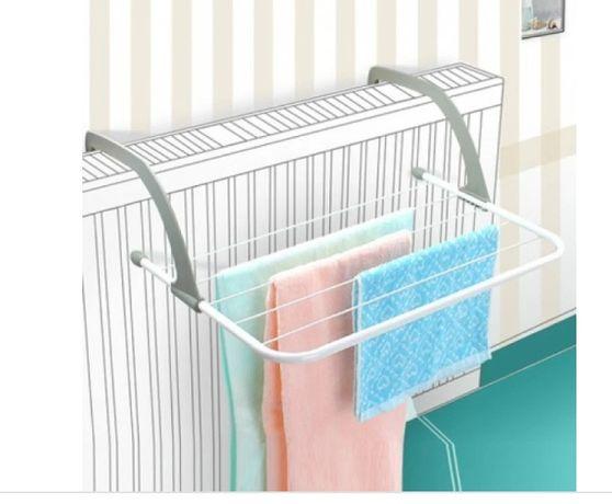 Сушка для белья на батарею или балкон удобная мобильная