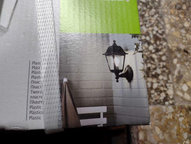 Lampy lararnie ogrodowe retro 2 szt. na zewnątrz.
