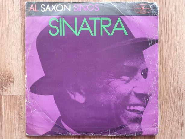 Płyta winylowa Frank Sinatra Al Saxon Sings winyl