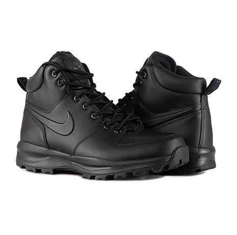 Ботинки nike manoa leather кожа зимние