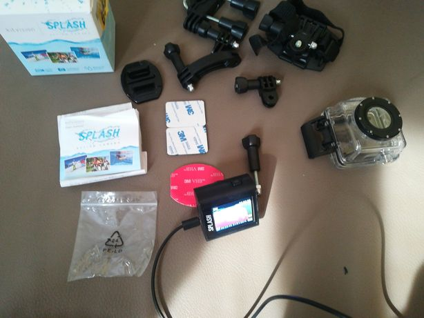 Podobna do GoPro wodoszczelna kamera - Kitvision splash action camera