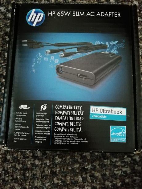 nowy oryginalny zasilacz HP- HP 65W slim ac adapter