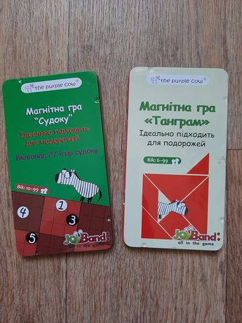 """Магнитная игра """"Танграм"""" и Судоку JoyBand"""