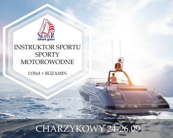 Instruktor sportu - Sporty motorowodne