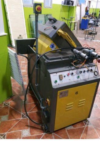 Maquina corte alumínio frontal 450
