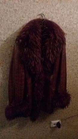куртка кожаная в идеальном состоянии, одета 10 раз