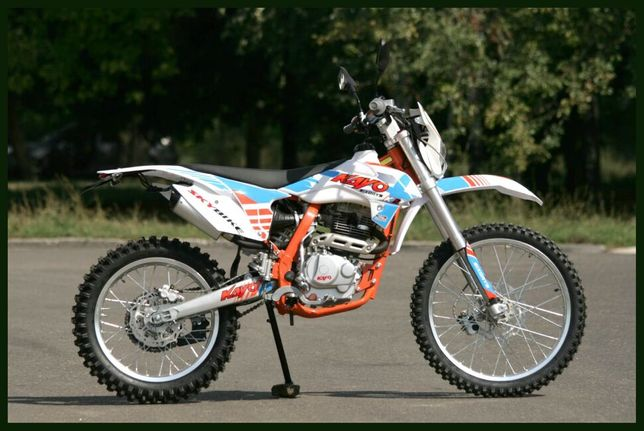Эндуро мотоцикл KAYO K2-250 наличие, гарантия, кредит