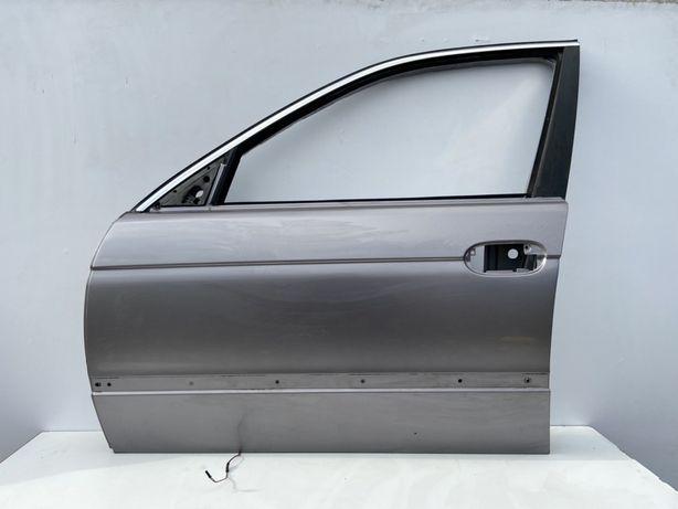 Дверька Водителськая Дверь БМВ Е39 Aspen Silber Metallic