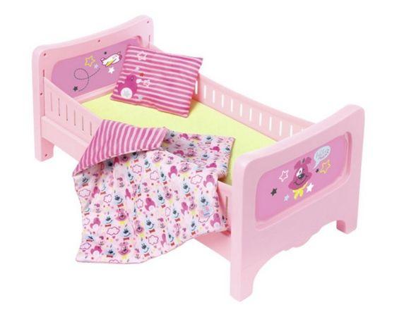 Интерактивная кроватка для куклы Радужные Baby Born Zapf 824399 822289