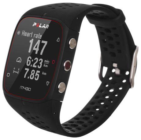 Zegarek sportowy Polar M430 czarny M/L do Biegania