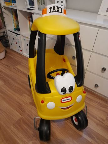 Samochód TAXI Jeździk Odpychacz Little Tikes