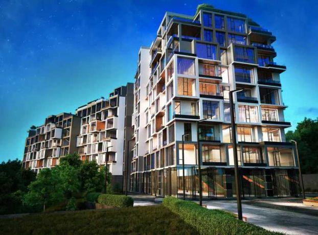 Красивая квартира с террасой в ITOWN Центр города!Без комиссии