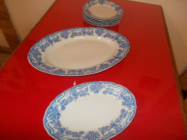 8 sztuk porcelany Włocławek