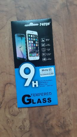 Motorola E5 szkło 9H