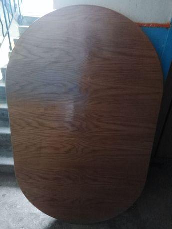 Продаю комплект дубовий стіл+3 секції+крісла 6 шт