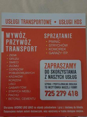 Wywóz starych mebli,śmieci opróżnianie mieszkań,piwnic Koszalin +50km