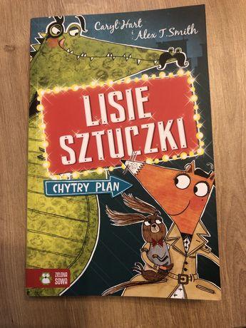 """Książka """"Lisie sztuczki"""" wyd. Zielona Sowa"""