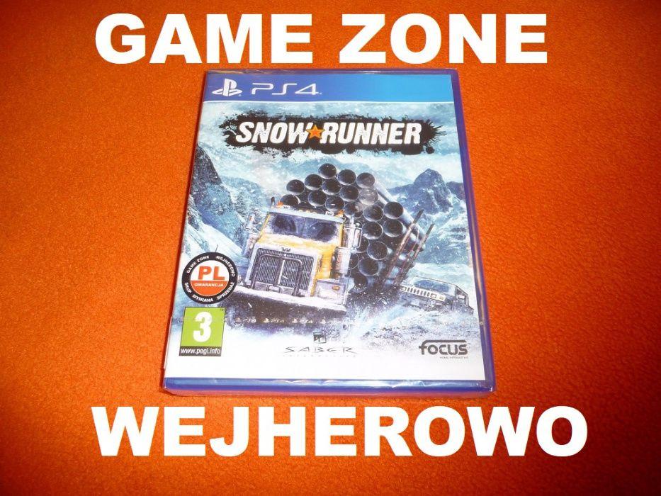 Snow Runner PS4 + Slim + Pro = PŁYTA PL Wejherowo