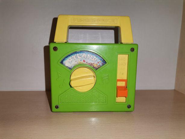 Заграничные товары! Старая винтажная механическая игрушка Fisher Price