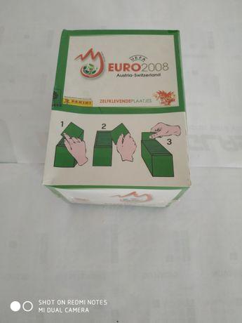 Caixa de cromos euro 2008 panini