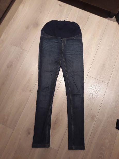Spodnie jeansowe ciążowe S