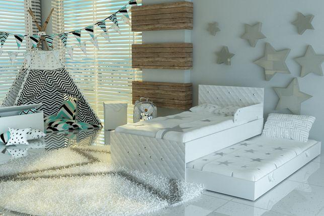 Łóżko piętrowe ,wysuwane dla dzieci,dziecięce 2 materace GRATIS