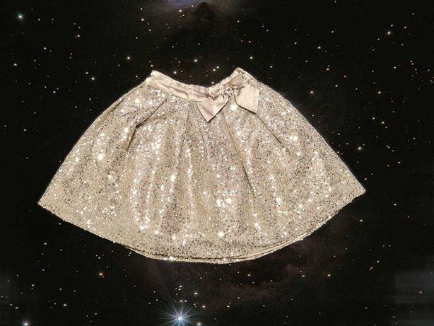 Пышная нарядная детская юбка от George 5-6