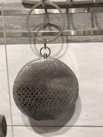 Torebka srebrna