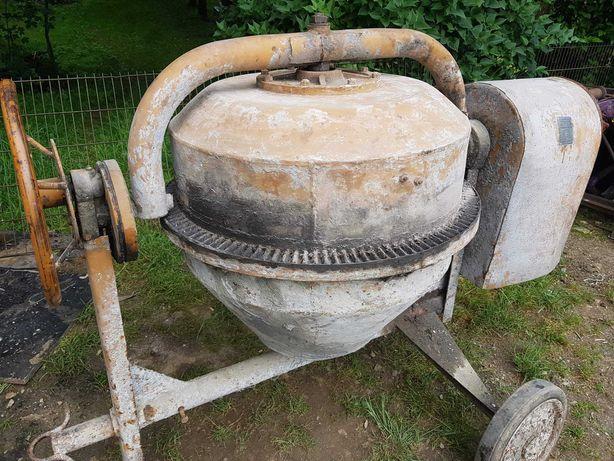 Betoniarka 150L silnik 380v