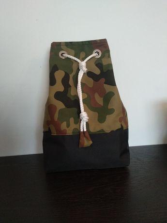 Worko-plecak worek plecak tobołek worko plecak torba moro. Rozm. S