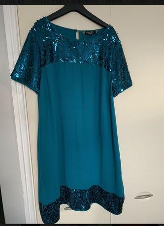 Шикарное платье летние нарядное вечерние сукня M-L 46 58