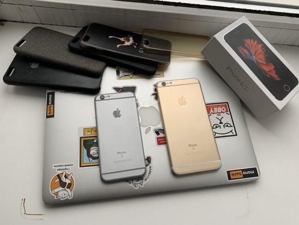 Продам два iphone: 6s 16gb neverlock & 6s Plus 32gb rsim