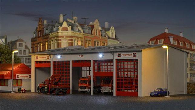 Kibri 39219 - H0 Nowoczesna remiza strażacka
