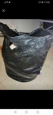 8kg tecidos varios (para vestidos cortinados echarpes almofadas etc)