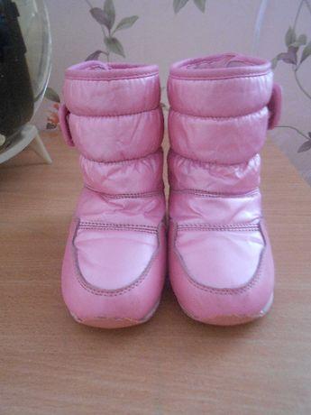 Зимние детские сапоги, для девочки.