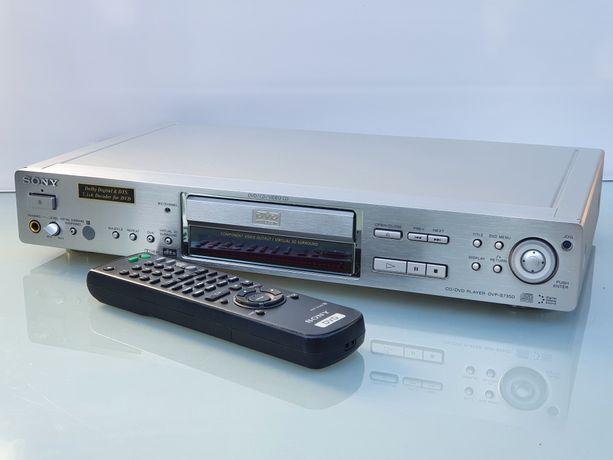 SONY DVP-S735D Odtwarzacz DVD/CD HIGH END Alu panel