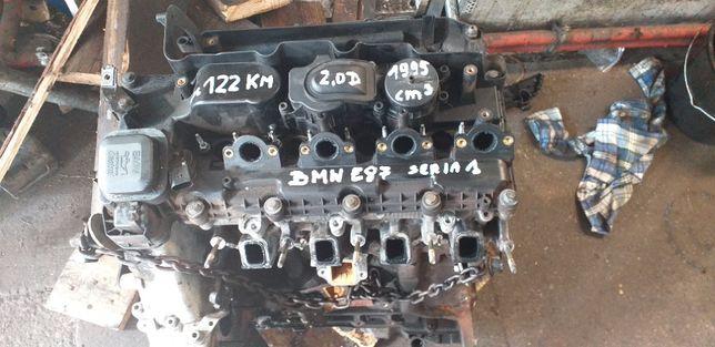 Silnik - blok- BMW 1 E87 2.0 moc 122 Km M47 pęknięty wał