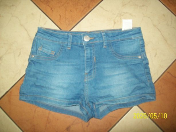 SINSAY spodenki szoty jeansowe XS ok 146/152