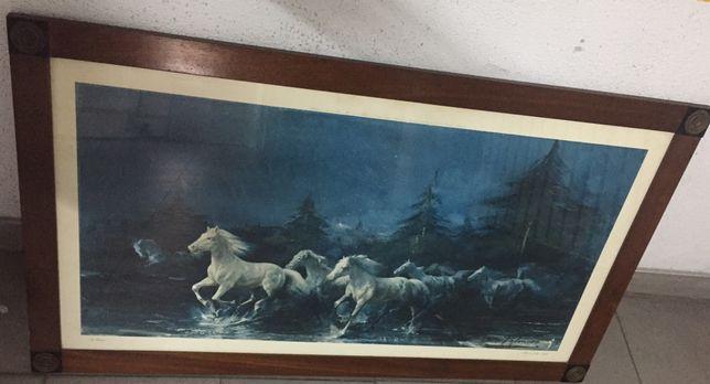 "Quadro ""Horses Of The Night"